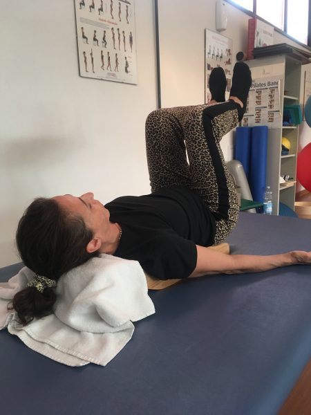 Lower back pain treatment at home