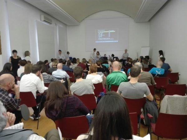 Backrack presentation in back school event  Italy
