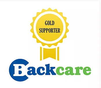 Gold partner of the backcare charity