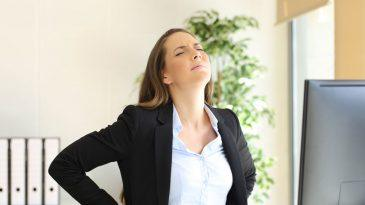 Effective Tips to Prevent Back Pain at Office