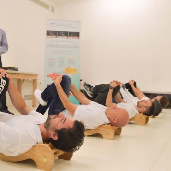 Backrack Exercise Spine Stress