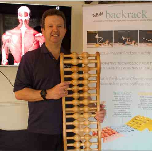 Backrack Helps Chiros and Physios